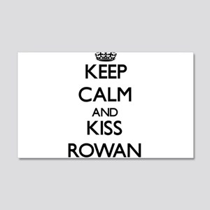 Keep Calm and Kiss Rowan Wall Decal