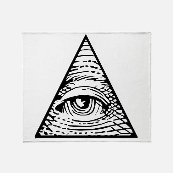 Eye of Providence Throw Blanket