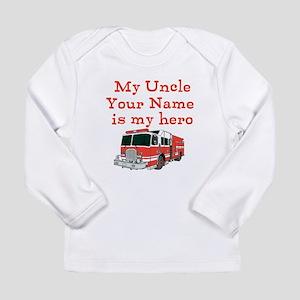 My Uncle Is My Hero (Custom) Long Sleeve T-Shirt