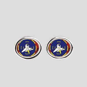nsawclogo Oval Cufflinks