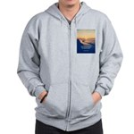 Christopher Columbus Quote Zip Hoodie