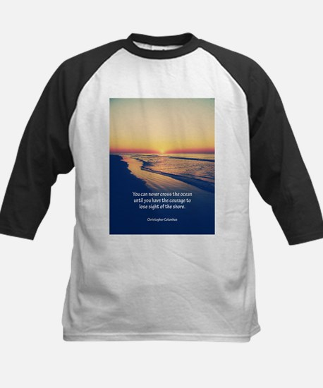 Christopher Columbus Quote Baseball Jersey