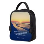 Christopher Columbus Quote Neoprene Lunch Bag