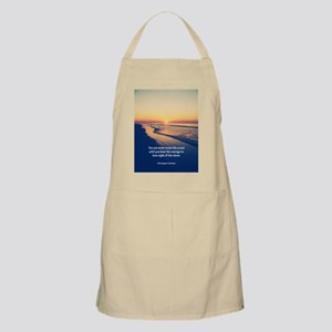 Christopher Columbus Quote Apron