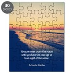 Christopher Columbus Quote Puzzle