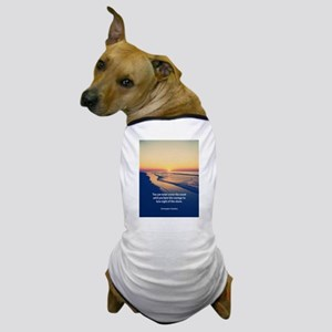 Christopher Columbus Quote Dog T-Shirt