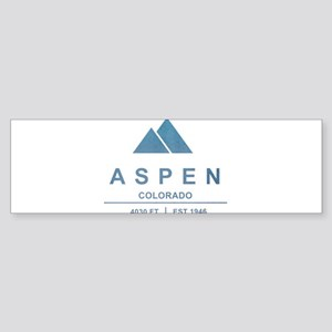 Aspen Ski Resort Colorado Bumper Sticker