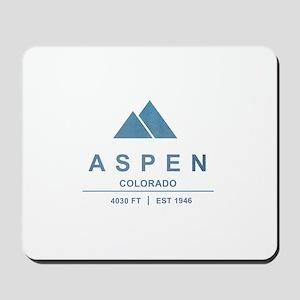 Aspen Ski Resort Colorado Mousepad