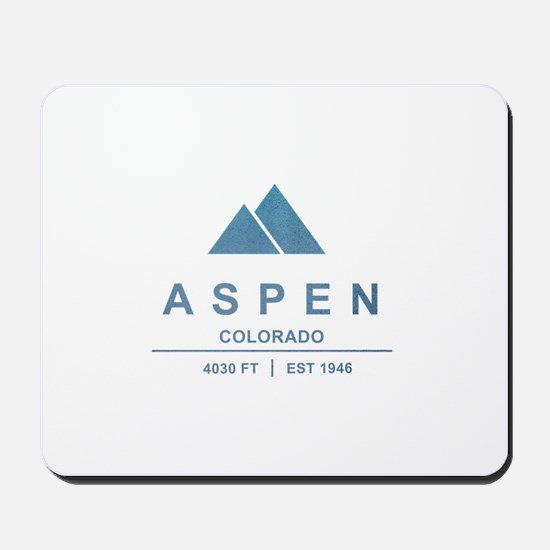 Aspen Ski Resort Colorado Mousepad