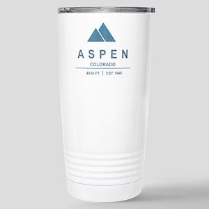 Aspen Ski Resort Colorado Travel Mug