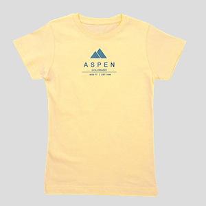 Aspen Ski Resort Colorado Girl's Tee