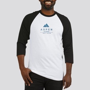 Aspen Ski Resort Colorado Baseball Jersey