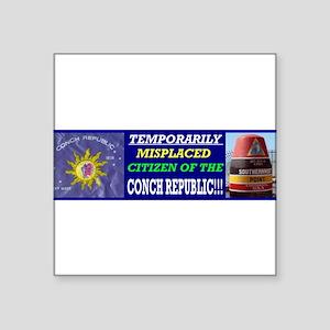 CITIZEN OF THE CONCH REPUBLIC Sticker