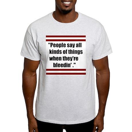 Cisco Kid Quote Grey T-Shirt