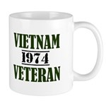 VIETNAM VETERAN 74 Mugs