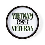 VIETNAM VETERAN 74 Wall Clock