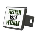 VIETNAM VETERAN 74 Hitch Cover