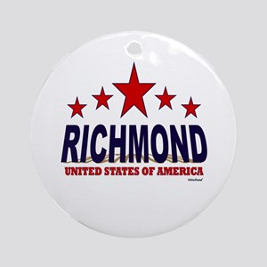 Richmond Ornament (Round)
