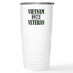 VIETNAM VETERAN 72 Travel Mug