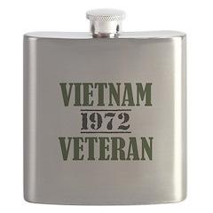 VIETNAM VETERAN 72 Flask