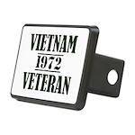 VIETNAM VETERAN 72 Hitch Cover