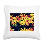 In artificial light Square Canvas Pillow