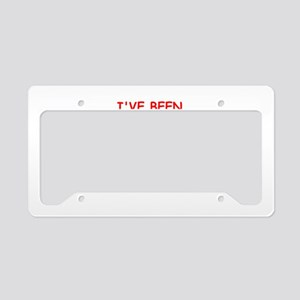 liberated License Plate Holder