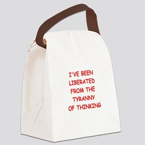 liberated Canvas Lunch Bag