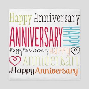 Modern Stylish Anniversary Queen Duvet