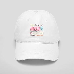 Modern Stylish Anniversary Cap