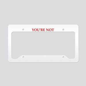 PARANOID License Plate Holder