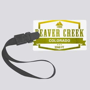 Beaver Creek Ski Resort Colorado Luggage Tag