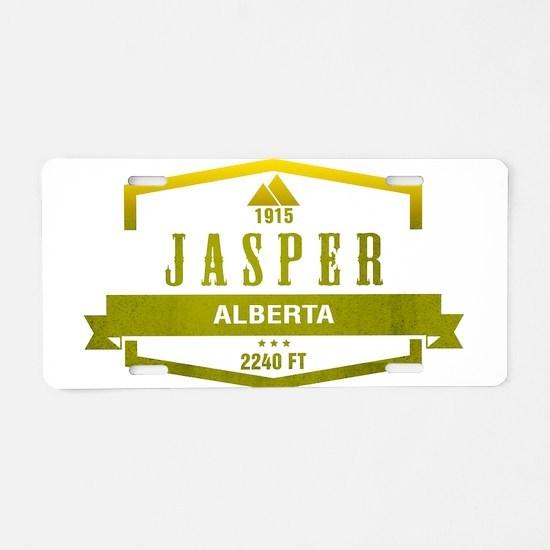 Jasper Ski Resort Alberta Aluminum License Plate
