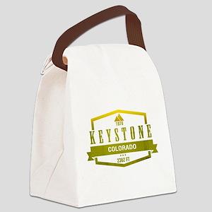 Keystone Ski Resort Colorado Canvas Lunch Bag