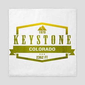 Keystone Ski Resort Colorado Queen Duvet