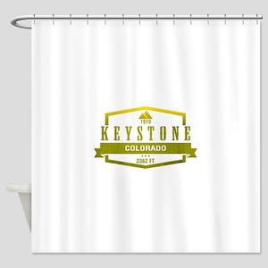 Keystone Ski Resort Colorado Shower Curtain