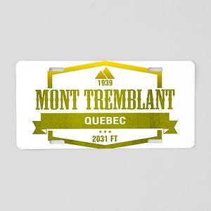 Mont Tremblant Ski Resort Quebec Aluminum License