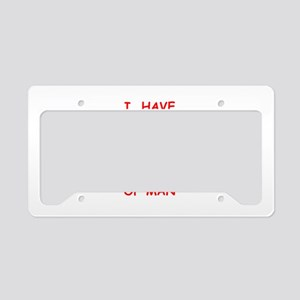 humanity License Plate Holder