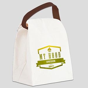 Mt Hood Ski Resort Oregon Canvas Lunch Bag
