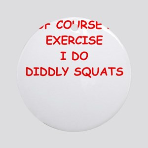 exercise Ornament (Round)