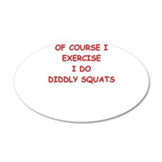 exercise Wall Decal