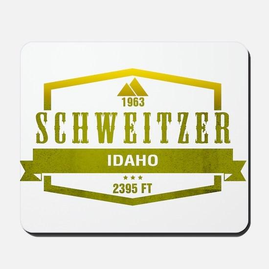 Schweitzer Ski Resort Idaho Mousepad