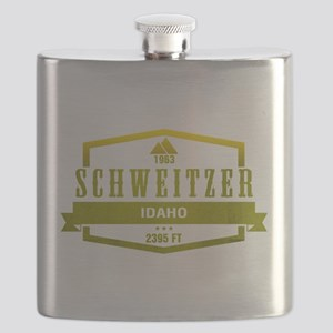 Schweitzer Ski Resort Idaho Flask
