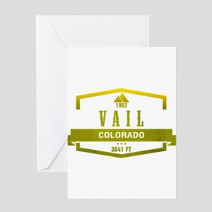Vail Ski Resort Colorado Greeting Cards