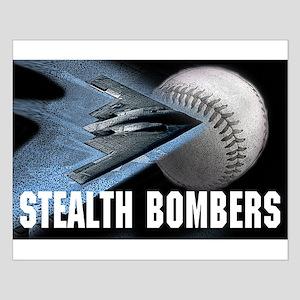 Bombers Baseball Posters Small Poster