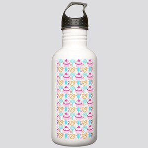 Colorful Cupcake Sweet Stainless Water Bottle 1.0L
