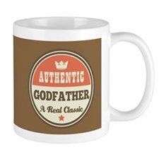 Vintage godfather Design Gift Mugs