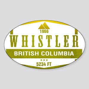 Whistler Ski Resort British Columbia Sticker
