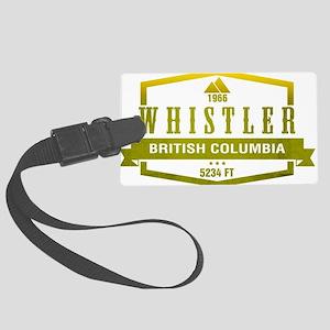 Whistler Ski Resort British Columbia Luggage Tag