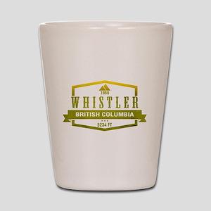 Whistler Ski Resort British Columbia Shot Glass